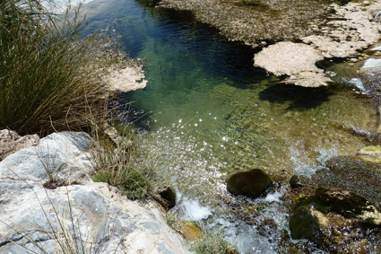 Flusslauf in den Naukluft-Bergen