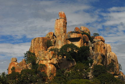 Felsformation in Matobo Hills/ZIM