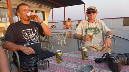 Ein kühles Bier zum Sundown