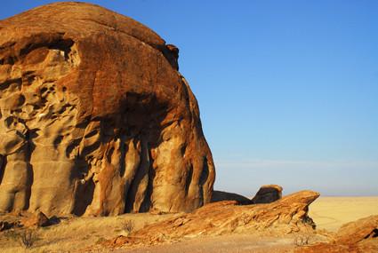 Felsformation im Namib Naukluft Park