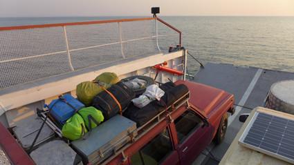 unterwegs auf dem See