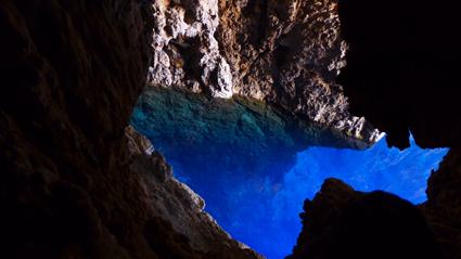 Chinhoyi Caves in Zimbabwe