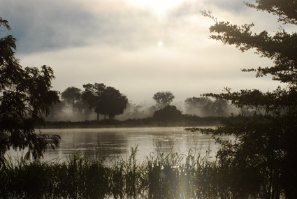 Morgenstimmung am Kavango