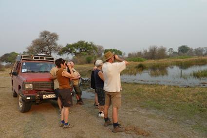 Ausflug am Kwando