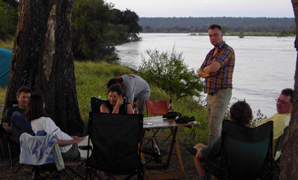 Camp am Zambezi