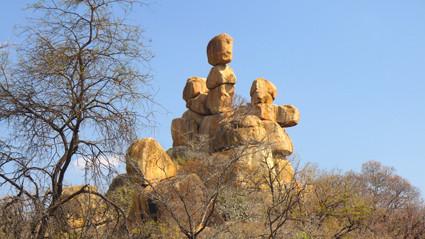 das Wahrzeichen von Matobo Hills