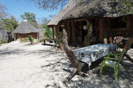 Urige Unterkunft in Botswana