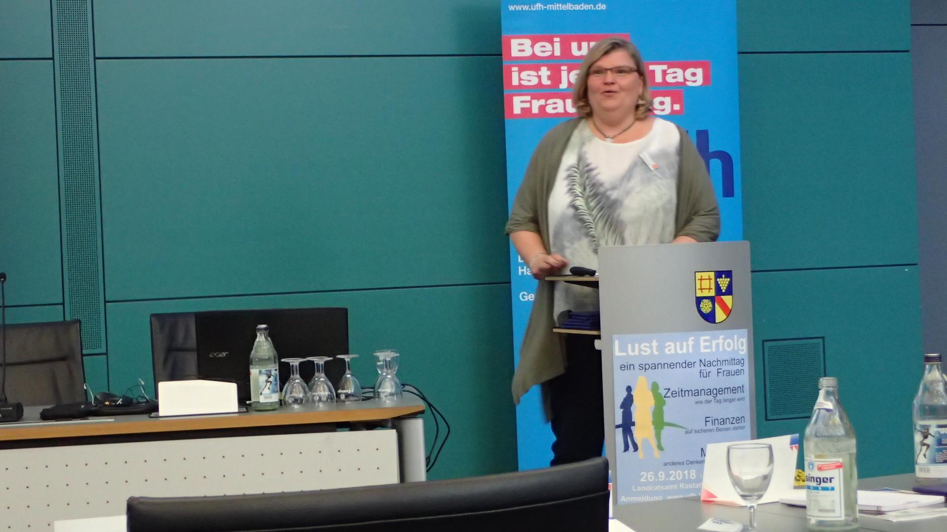 09-18 Referentin Silke Harnapp, HWK Karlsruhe