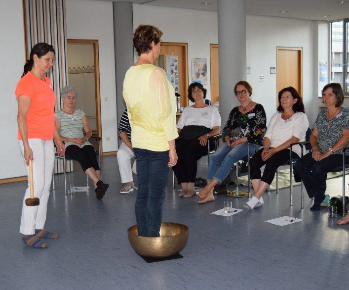 07-17 Jede Teilnehmerin hat eigene Erfahrungen
