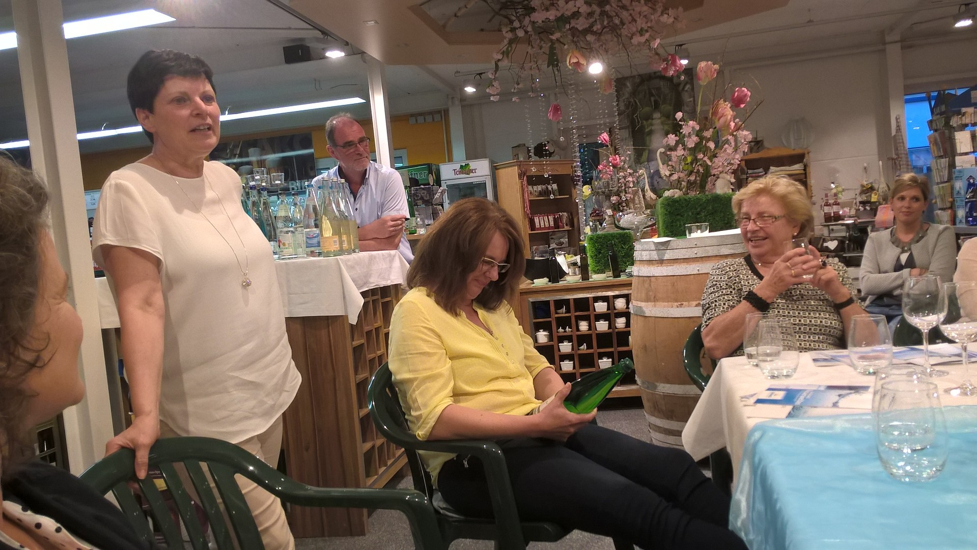07-16 Waserseminar mit Ingrid Schäfer