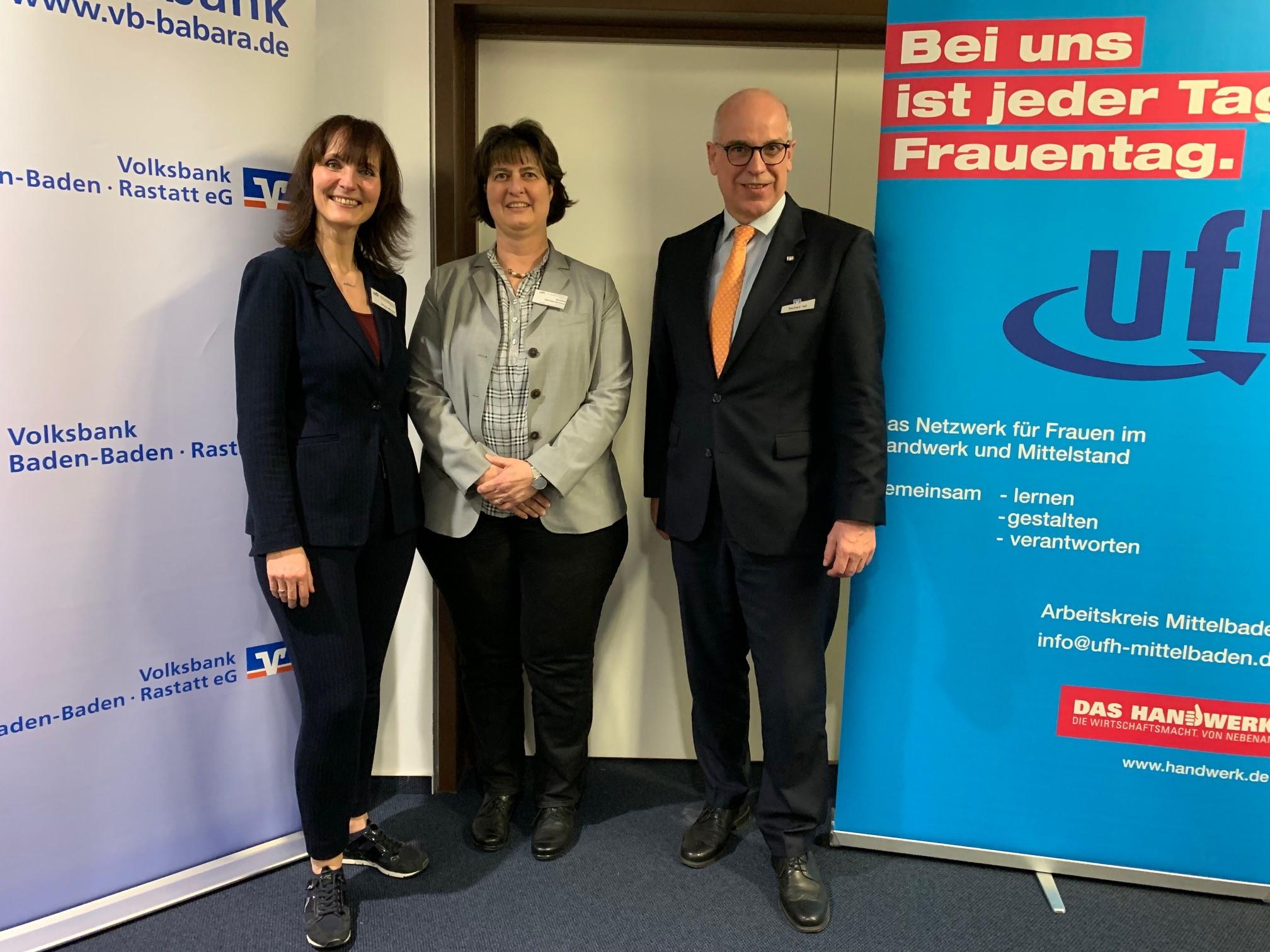 03-2019 v.li.n.re.Sibylle Melcher, Annette Hermes-Schmid,Bernhard Veit