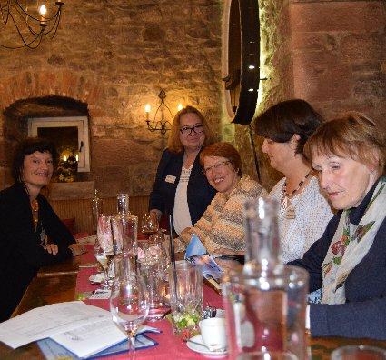 09-16 Stammtisch auf Schloss Eberstein