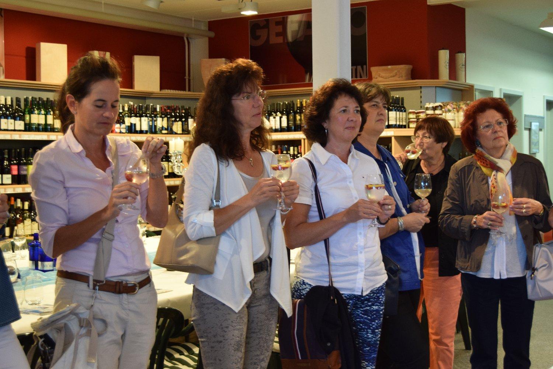07-17 Empfang zum Wasserseminar bei Getränke Schäfer, Haueneberstein