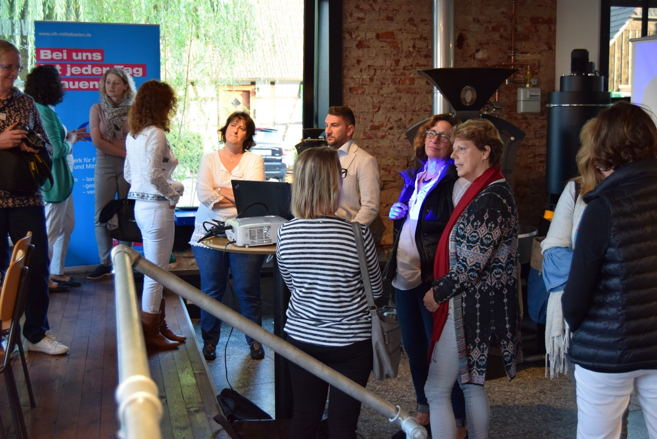 10-2018 Besichtigung Kaffeerösterei im Eisenwerk Gaggenau