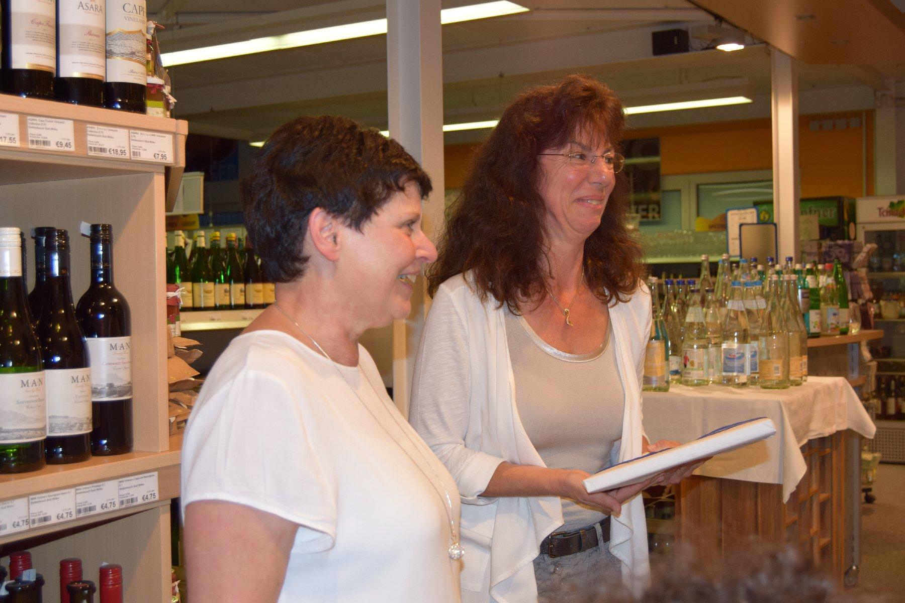 07-16 Wasserseminar - ein herzliches Dankeschön an Ingrid Schäfer