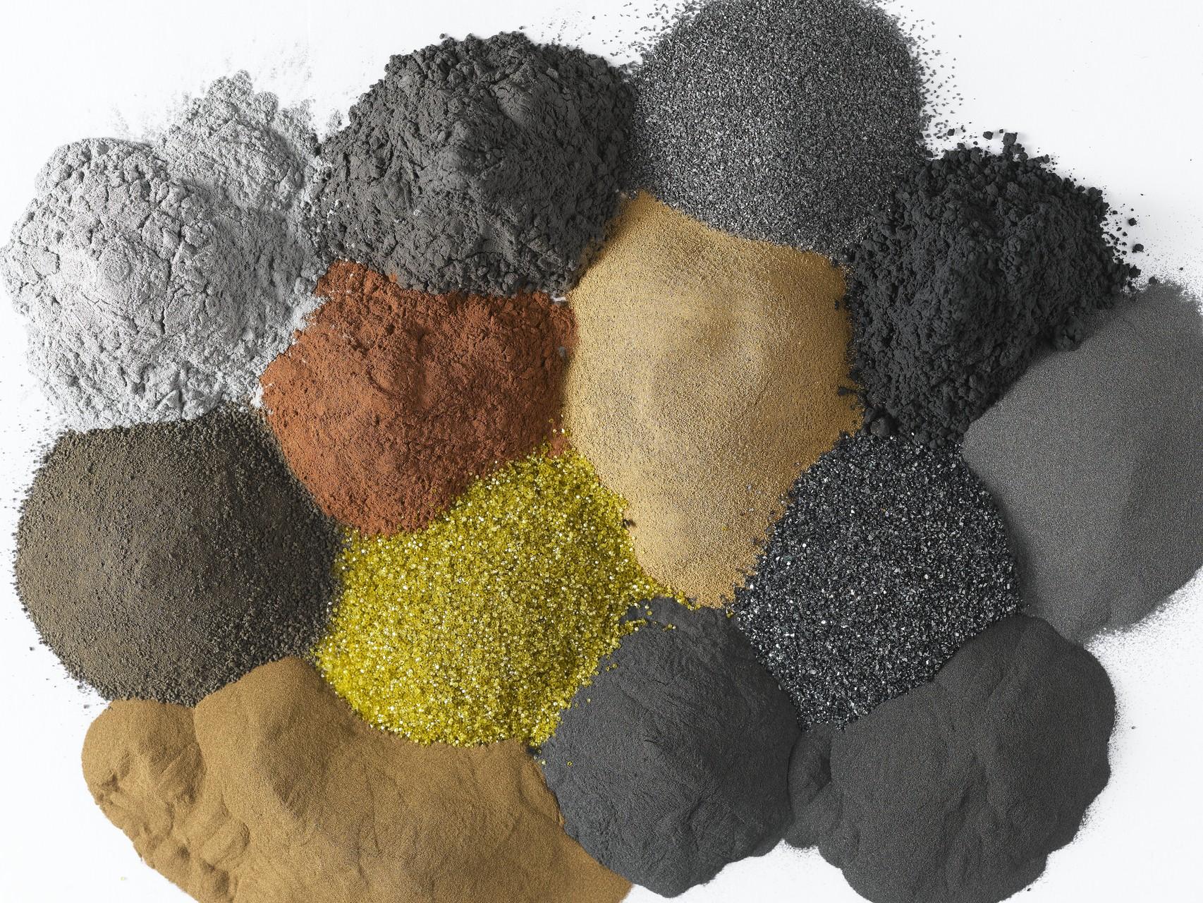 diaX Metallpulver für die Herstellung von Diamantschneid- und -bohrsegmenten