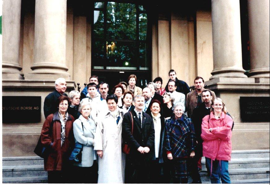 1999 Frankfurt - vor der Börse