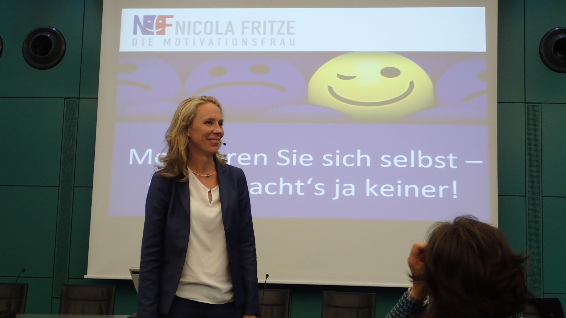 09-18 Nicola Fritze - die Motivationsfrau