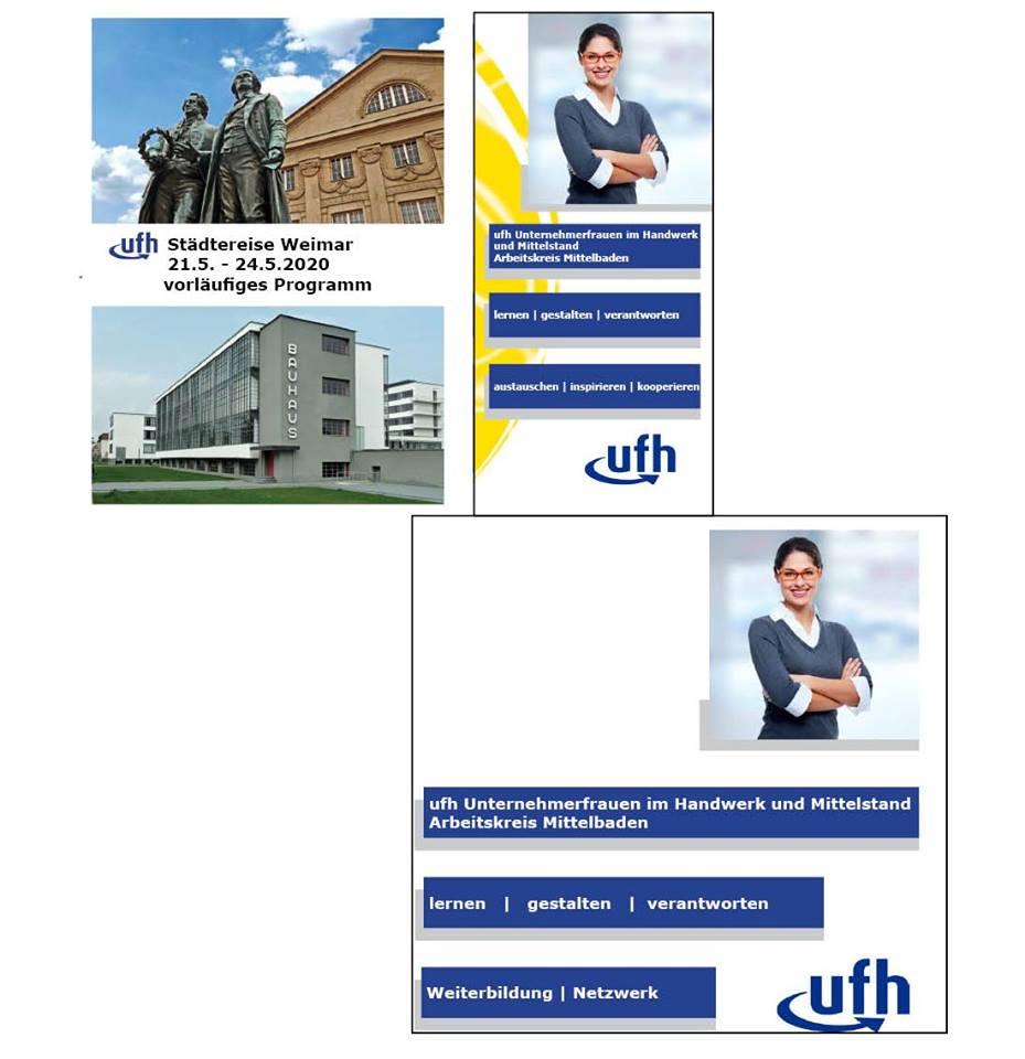 06-2019 ufh-TREFF, Gäste-Infomappen mit neuer Broschüre