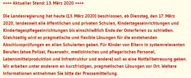 Quelle: Kultusministerium Baden-Würrtemberg (https://km-bw.de/,Lde/Startseite/Ablage+Einzelseiten+gemischte+Themen/Coronavirus)