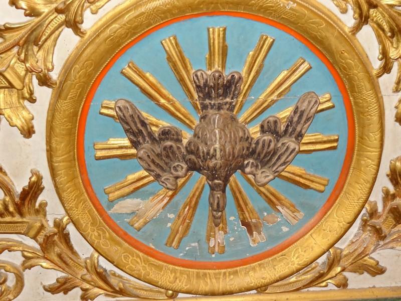 Esprit saint de l'autel