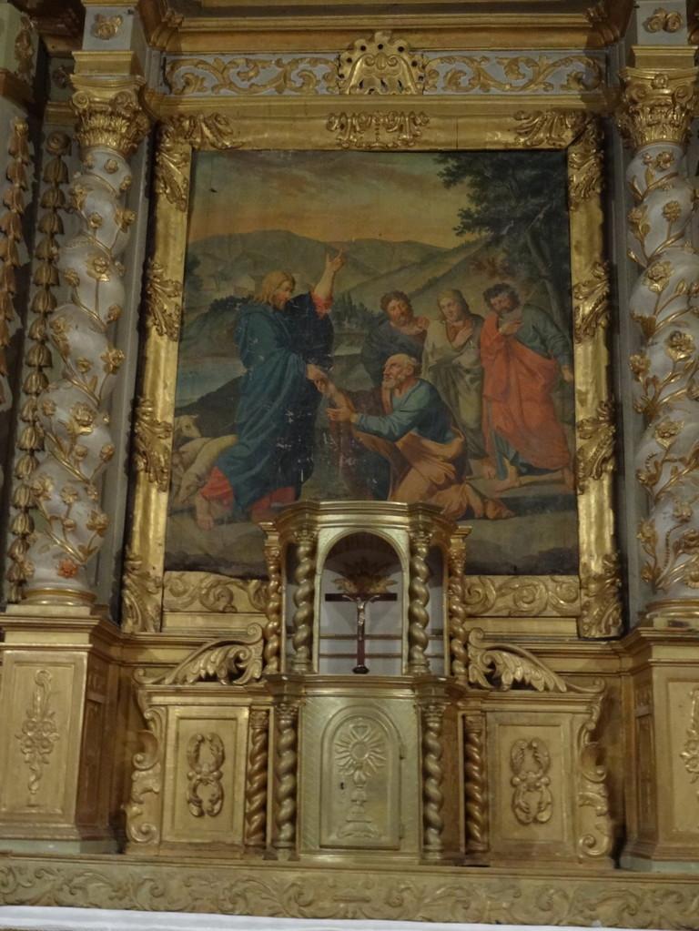 Rétable de l'autel majeur