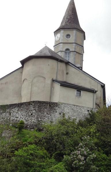 vues sur l'abside aux arcatures aveugles