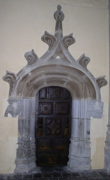 Porte sacristie