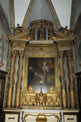 Rétable autel majeur
