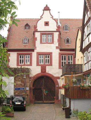 Eingang Hofstrasse