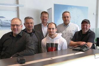 Das freundliche Team von Schweden Automobile