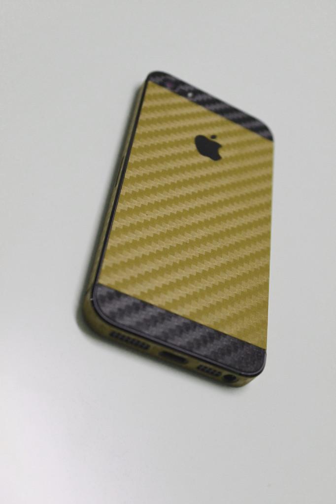 iphone 5s carbon folien zweifarbig carbon folien. Black Bedroom Furniture Sets. Home Design Ideas