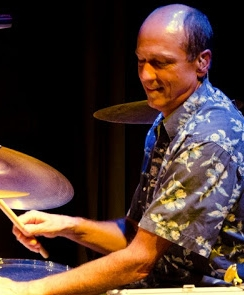 Gregg Stocki: our summertime drummer! drums and backing vocals