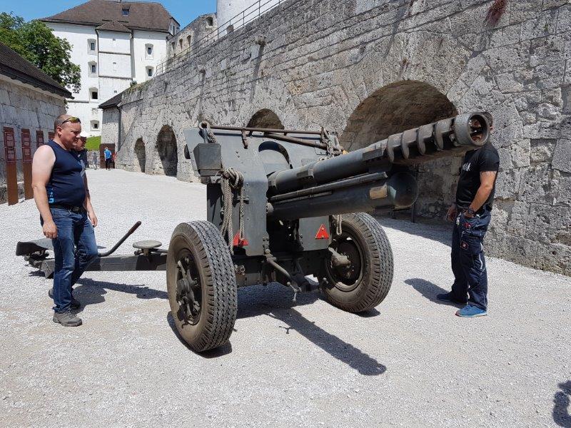 Haubitzen GPD Festung Kufstein