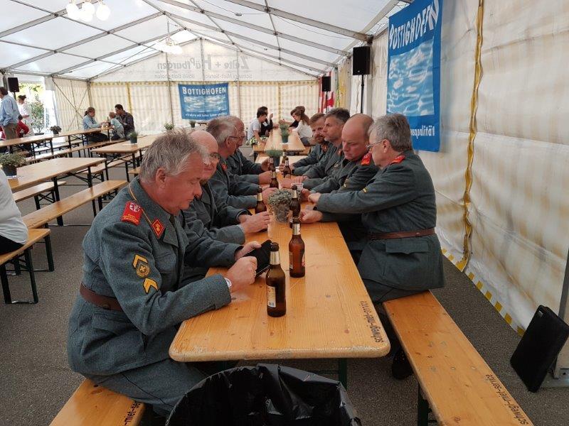 Beim wohlverdienten Bier
