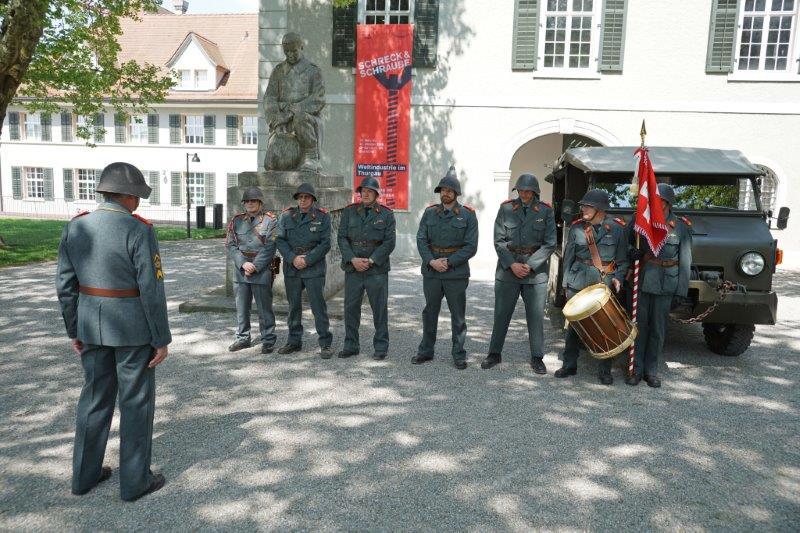 Inspektion Soldatendenkmal Frauenfeld