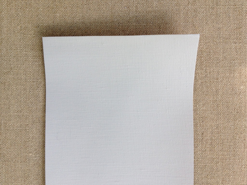 115 Linen fine, grey, four layers, acrylic primed, 216 cm