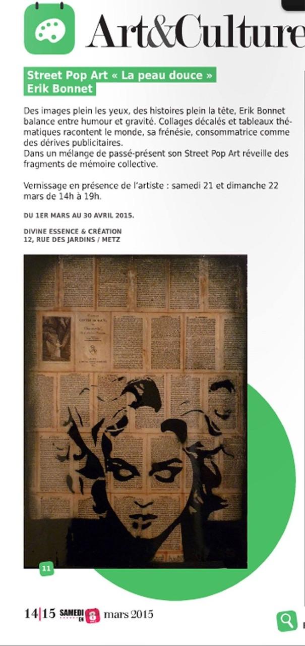 """article """"Metz en 8""""  mars 2015"""