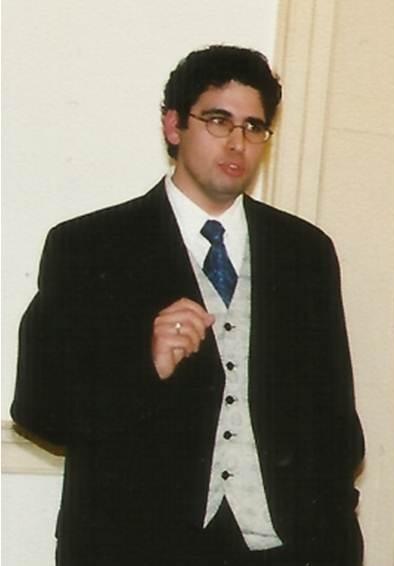 Miguel Oliveira während einer Vorlesung