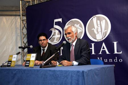 Miguel Oliveira, Francisco Faria Paulino (Komissar der kommunalen Gesellschaft Funchal-500-Jahr-Feier)