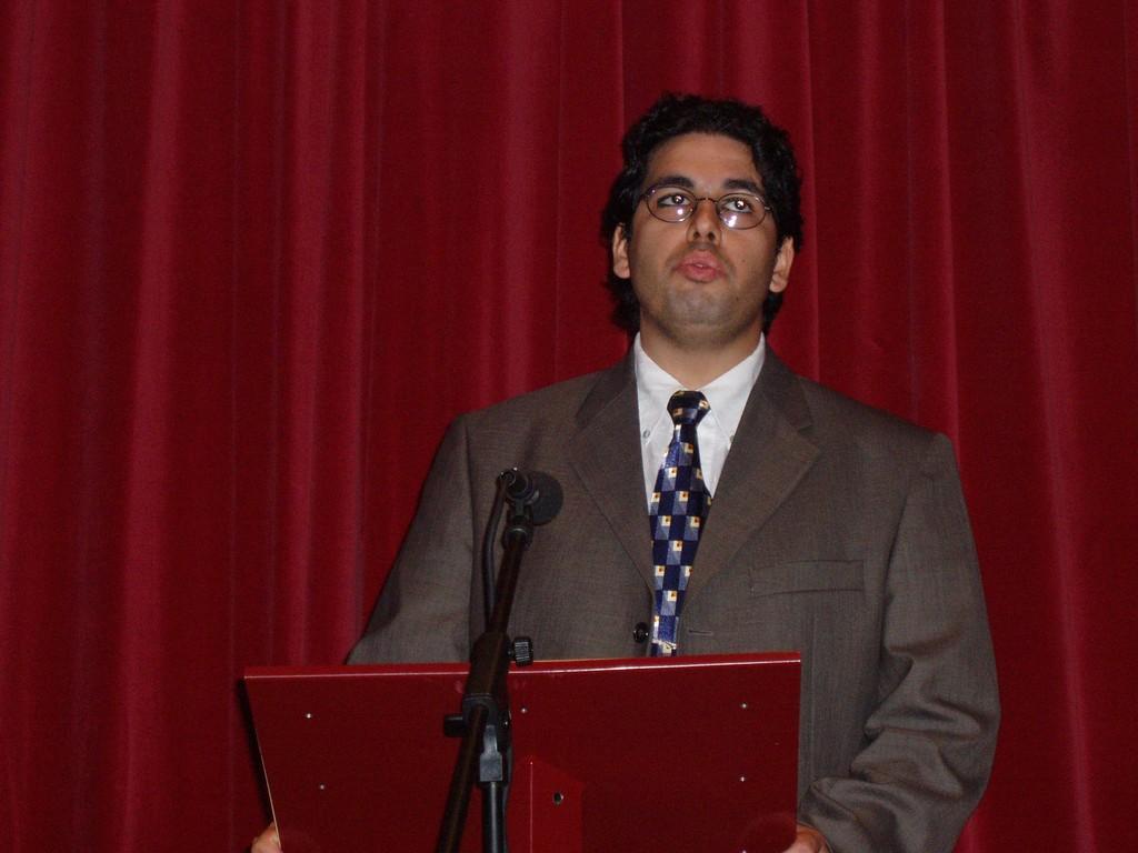 Miguel Oliveira im Kulturzentrum John Dos Passos
