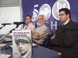 Prof. Dr. Frederico Delgado Rora, Dr. Francisco Faria Paulino and Miguel Oliveira