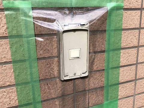 故障した外灯照明スイッチ交換工事の流れ。その2【新潟市中央区内の病院】