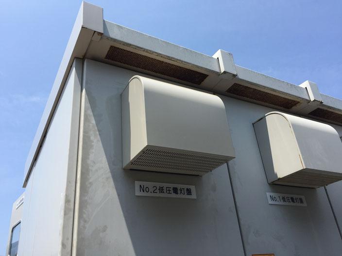 交換工事が完了して復旧したキュービクル換気扇【新潟市中央区】
