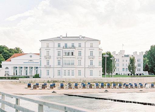 Luxus Ostseehochzeit
