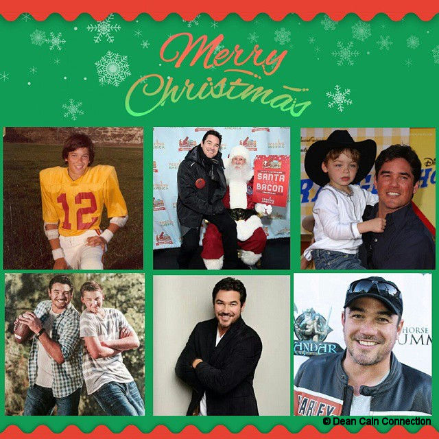 "I've made this creation on Christmas 2014 for my ""Dean Cain Connection"" Instagram-account."