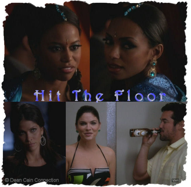 "My creation of some ""Hit The Floor""-cast ladies incl. Dean Cain."