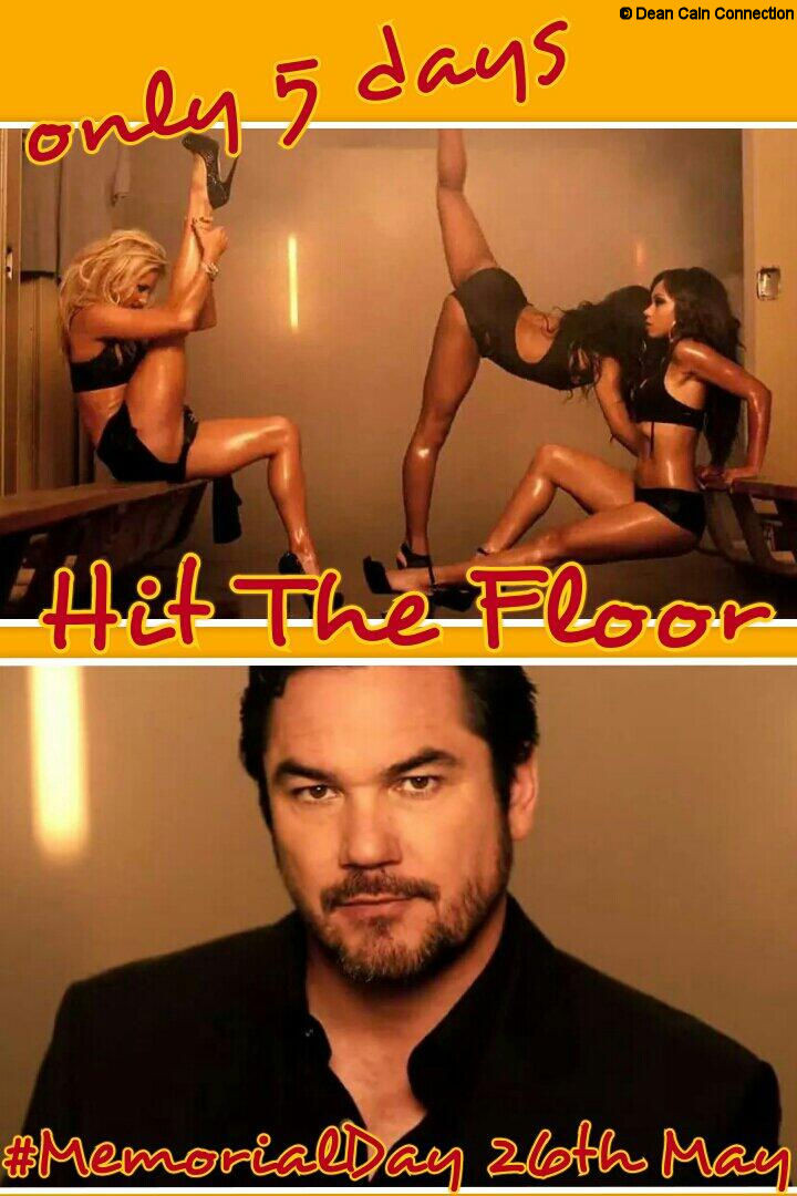"""Another creation of my """"Hit The Floor"""" one-week-countdown I did a week before the 2nd Season premiere. On the pic on the top of my creation you see Katherine Bailess as Kyle Hart, Taylour Paige as Ahsha Hayes & Logan Browning as Jelena Howard."""