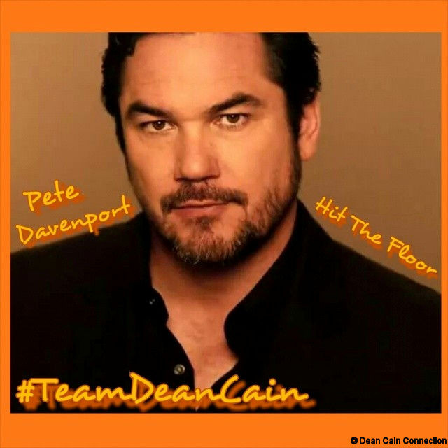 My great creation of Pete Davenport #TeamDeanCain.