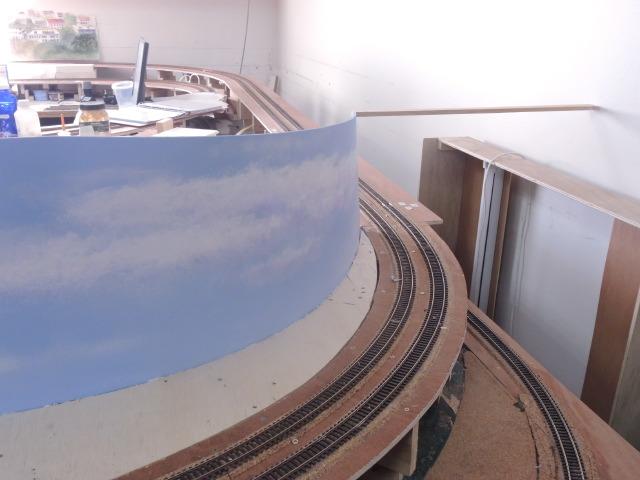 Les fonds de décor courbés Gare de Mer